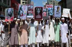 20 ألف من البنغلاديشيين يتظاهرون تأييدا للروهينغا