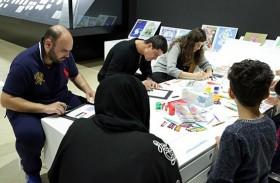 دبي للثقافة تجمع الأطفال والعائلات  في ورش عمل لتصميم الطوابع