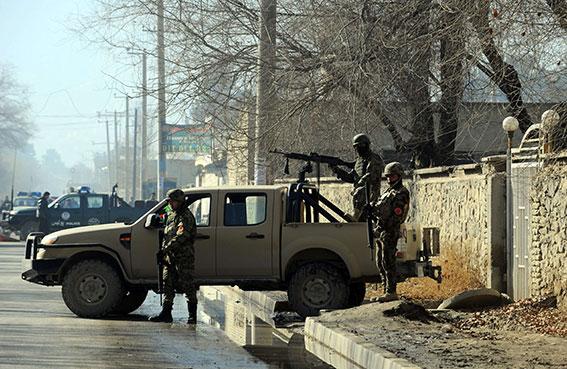 طالبان تفجر مستودع ذخيرة في كابول