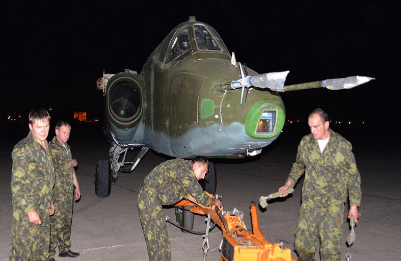مقاتلات سوخوي روسية تصل بغداد دعماً للمالكي