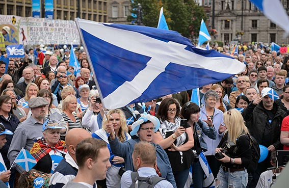 استطلاعان يظهران تقدم رافضي استقلال اسكتلندا