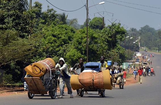 المنظمة الدولية للهجرة تتلقى طلبات من حكومات أفريقية لإجلاء رعاياها من أفريقيا الوسطى