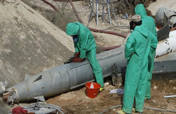 واشنطن تدعو دمشق لتسليم الكيميائي المتبقي