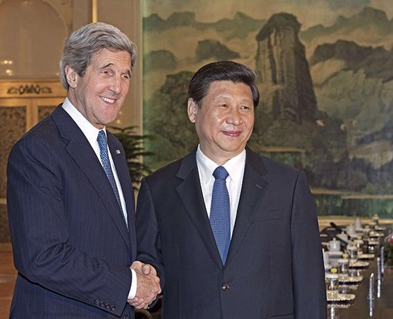 كيري في الصين للضغط على كوريا الشمالية