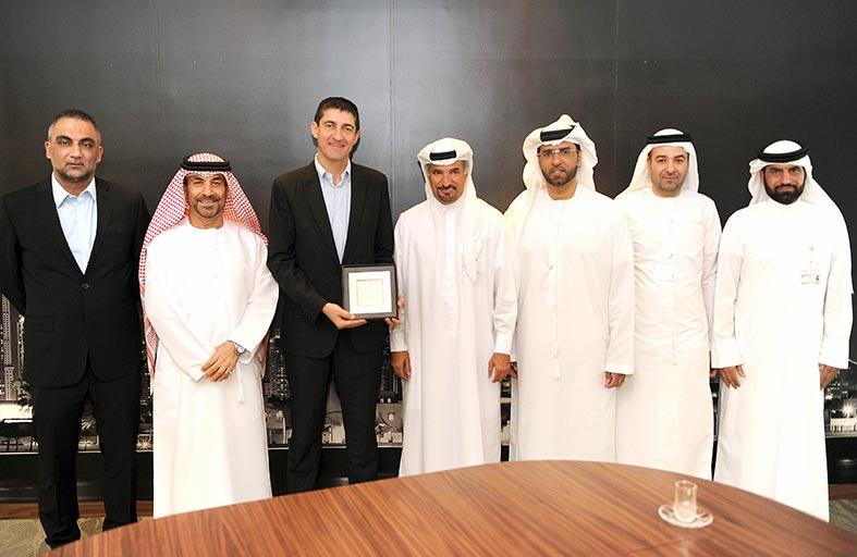 مجلس دبي الرياضي يبحث سبل التعاون مع الاتحاد الفرنسي لكرة السلة