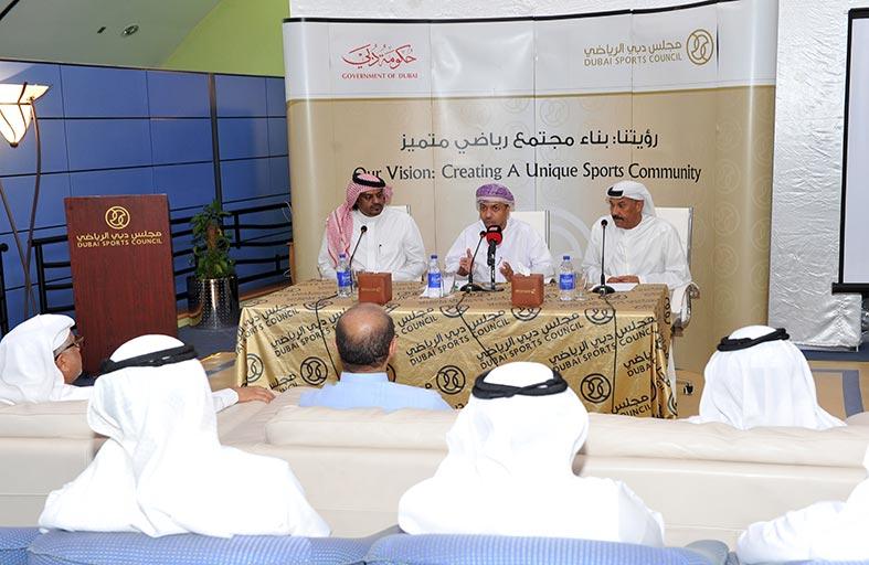 الشريف يستقبل وفد الاتحاد الخليجي للإعلام الرياضي ويطلع على مشروع استفتاء منتخب الخليج