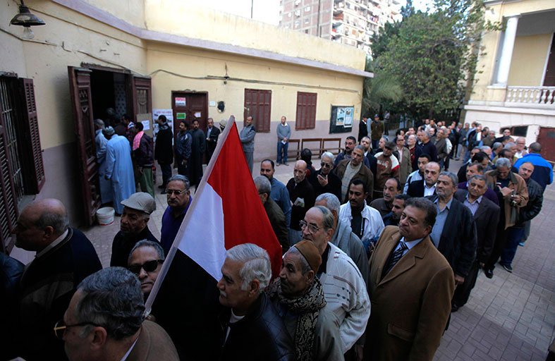 ملايين المصريين يخرجون لرسم مستقبل بلادهم