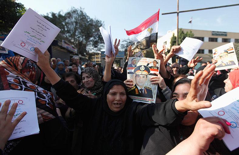 المصريون يجددون ثورتهم في الصندوق