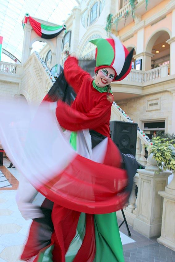 احتفالات دبي باليوم الوطني تعكس الفرحة بهذه المناسبة الغالية والولاء والانتماء لاتحاد الإمارات
