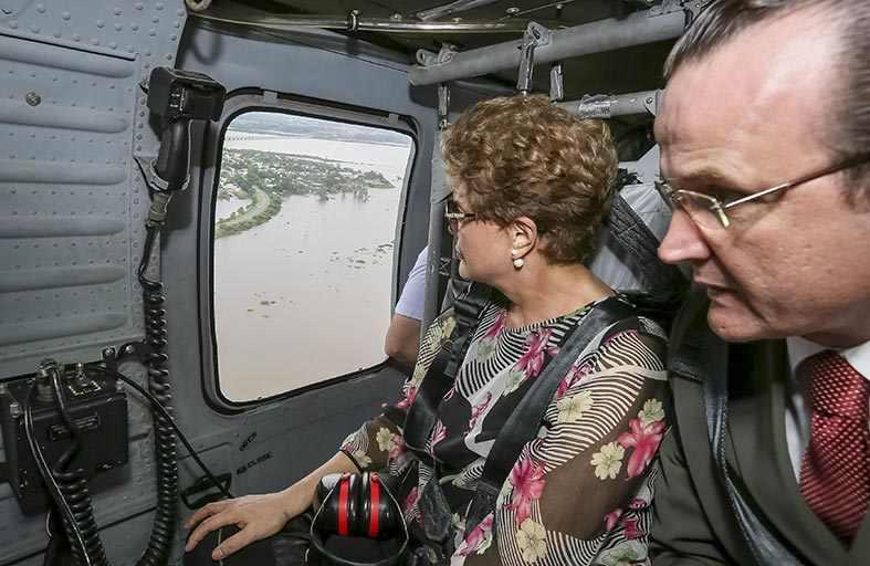 الفيضانات تؤدي لإجلاء عشرات الآلاف بأمريكا اللاتينية