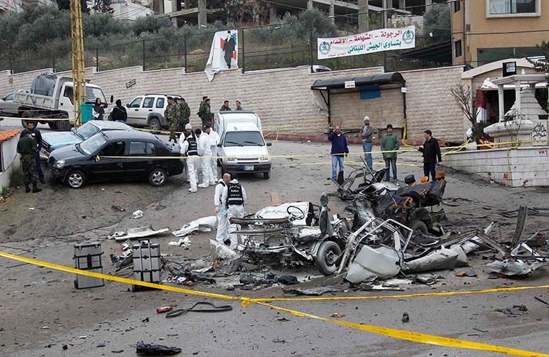 جبهة النصرة في لبنان تتبنى تفجير الشويفات