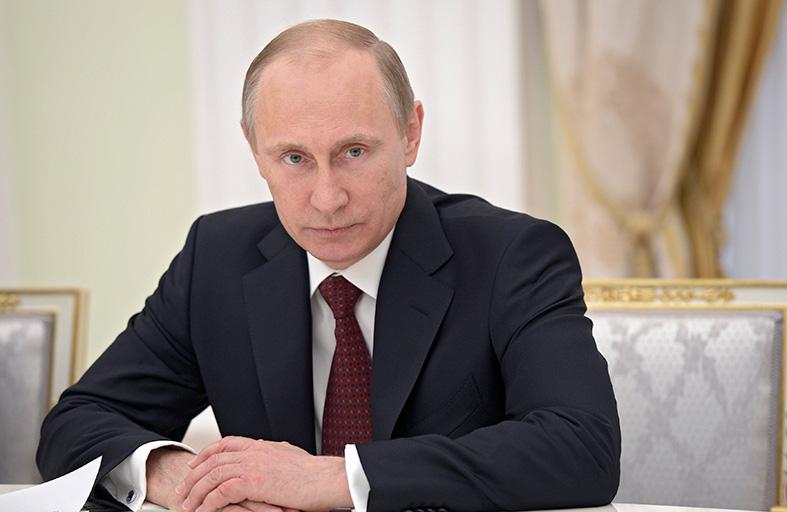 بوتين قلق من أحداث جنوب شرق أوكرانيا
