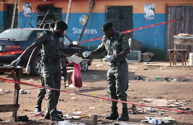 سلسلة تفجيرات في معقل بوكو حرام بنيجيريا