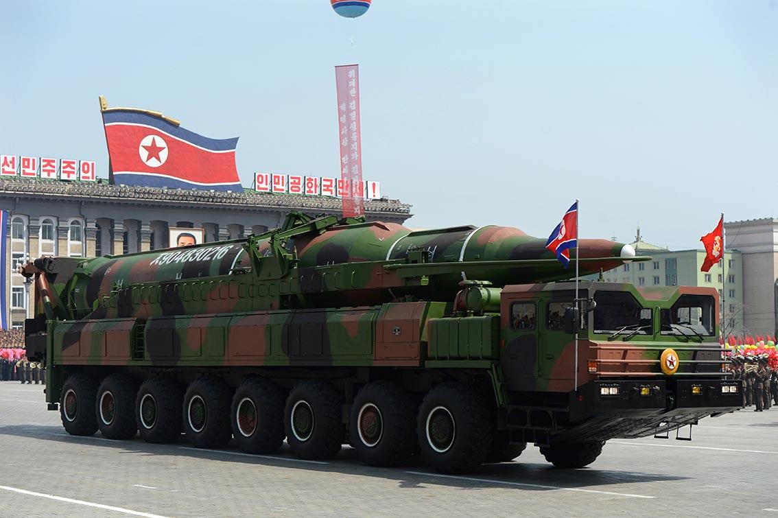 كوريا الشمالية تغطي موقعاً نووياً لتفادي مراقبته