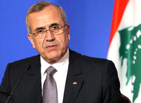الرئيس اللبناني يرفض التدخل في سوريا