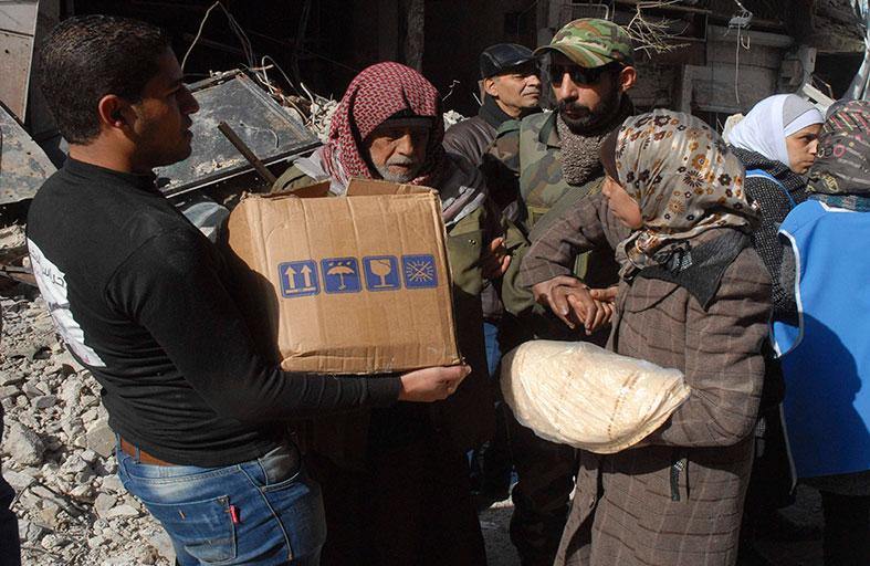 موسكو تدعو لإيصال الإغاثة إلى اليرموك