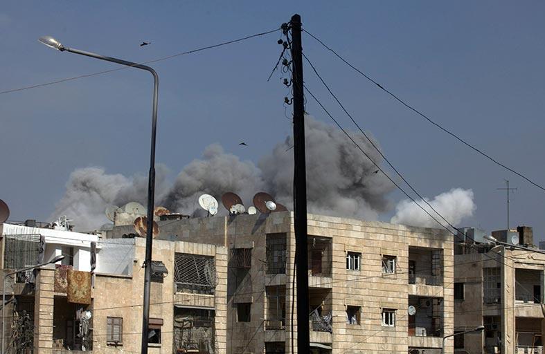 بان يدعو أمريكا وروسيا للضغط على الأطراف السورية