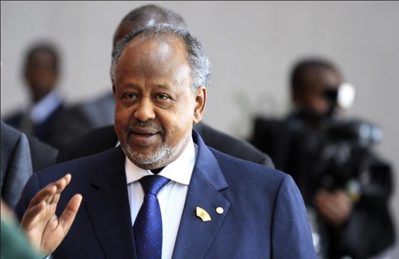 غيله يفوز بولاية رابعة في جيبوتي