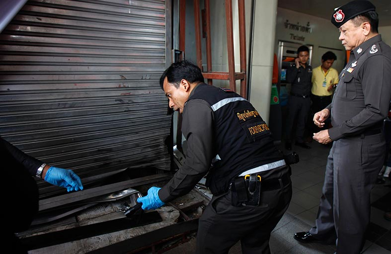 تعزيز أمنية في تايلاند بعد انفجارين في بانكوك