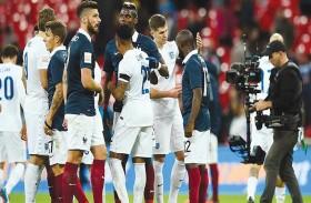 فرنسا تتسلح بالذكريات في لقاء إيسلندا