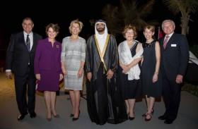 البواردي يحضر حفل استقبال مجلس الأعمال الإماراتي الأمريكي