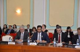 سفير الدولة يلتقى نائب وزير الاقتصاد الوطني بكازاخستان