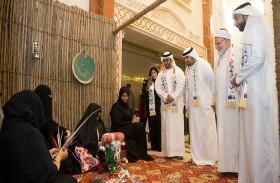 ماجد القاسمي يحضر احتفالات الجامعة القاسمية  باليوم الوطني الـ 46 للدولة