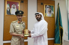 اللواء المري يستقبل المدير العام الجديد للهيئة الوطنية لإدارة الطوارئ والأزمات والكوارث