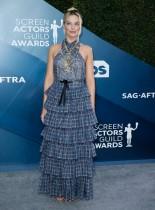 ميلي بوبي براون خلال حضورها جوائز نقابة ممثلي الشاشة السادسة والعشرين في لوس أنجلوس، كاليفورنيا . رويترز