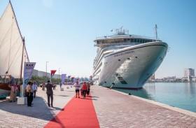 السفينة السياحية سيبورت أوفيشن ترسو في ميناء رأس الخيمة