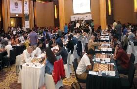 اقتراب موعد ختام فعاليات مهرجان أبو ظبي الدولي للشطرنج الـ 24 للشطرنج 2017