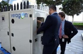 نظام جديد لتحويل الهواء إلى مياه يصل إلى الإمارات