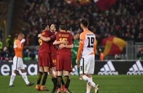 روما يبلغ ربع نهائي دوري الأبطال