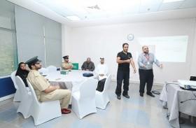 شرطة دبي تنظم دورة الإسعافات الأولية لأصحاب الهمم