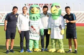نادي الإمارات يروج لاستضافة بطولة رأس الخيمة الدولية لمحترفي الجوجيتسو