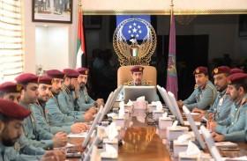 اجتماع للجنة العليا الدائمة لشرطة عجمان
