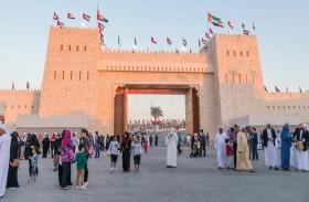 مهرجان الشيخ زايد يوفر المتعة والترفيه لزواره في أجواء عائلية جميلة