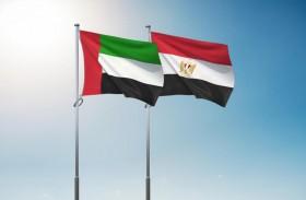 الإمارات ومصر تؤكدان قوة ومتانة العلاقات الثنائية خاصة على صعيد التنسيق السياسي