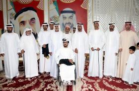 نهيان بن مبارك يحضر أفراح البلوشي والحارثي