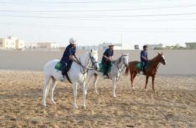 شرطة دبي تطلق مبادرة (فرسان زايد) بالشراكة مع مؤسسة ميدان