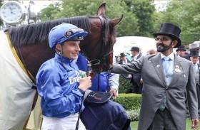 محمد بن راشد يشهد إنجاز فريق جودلفين في انطلاقة اليوم الأول لمهرجان رويال أسكوت للخيول