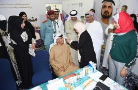 سالم بن سلطان: المهرجان يعكس الحركة العلمية بالإمارات