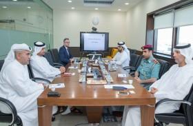 """مواصلات الإمارات تستقبل وفداً من """"الداخلية"""" لاستعراض ممارساتها في السلامة وتدريب السائقين"""