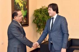 سفير الدولة يلتقي رئيس برلمان جورجيا