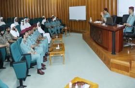 العميد غانم أحمد يشرح تجربة البحث الجنائي بشرطة رأس الخيمة