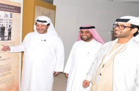 سعيد بن طحنون يزور جناح الأرشيف الوطني في مهرجان زايد التراثي
