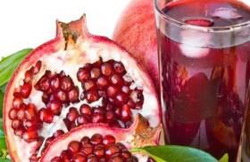 عصير الرمان يقلل الكوليسترول