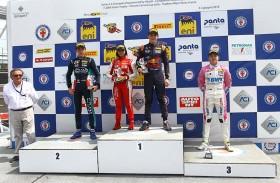 خبرة ثمينة اكتسبتها آمنة القبيسي في جولة مونزا للفورمولا 4 الإيطالية