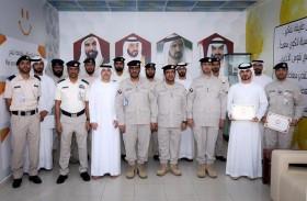 تخريج 4 دورات بمعهد أمن المنافذ بشرطة أبوظبي