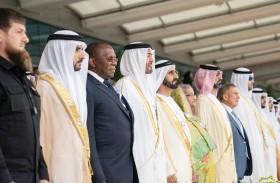 محمد بن راشد ومحمد بن زايد يشهدان افتتاح معرض «آيدكس»